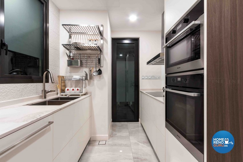 Contemporary Design - Kitchen - Condominium - Design by Fineline Design Pte Ltd