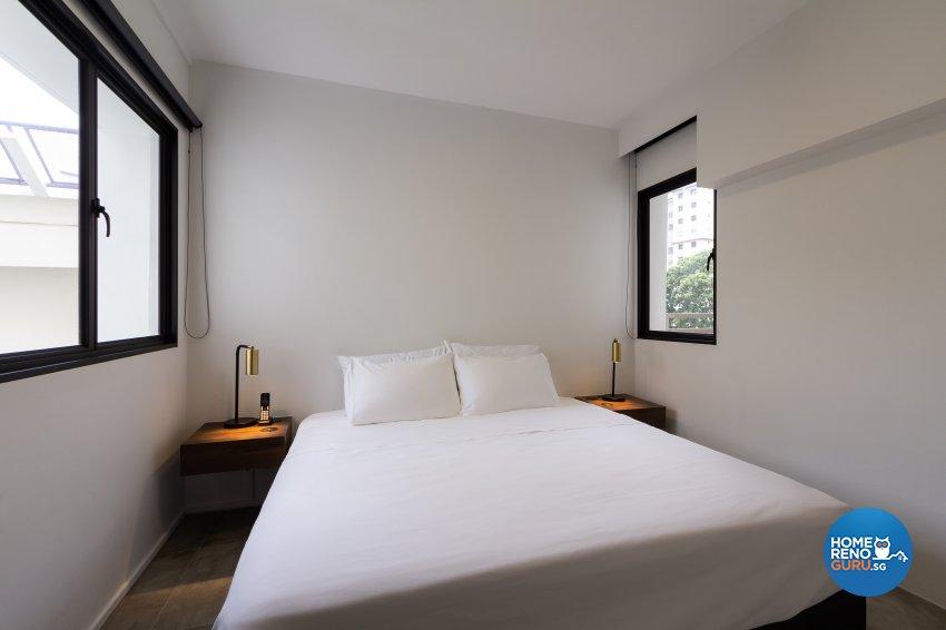 Minimalist Design - Bedroom - HDB 5 Room - Design by Fineline Design Pte Ltd