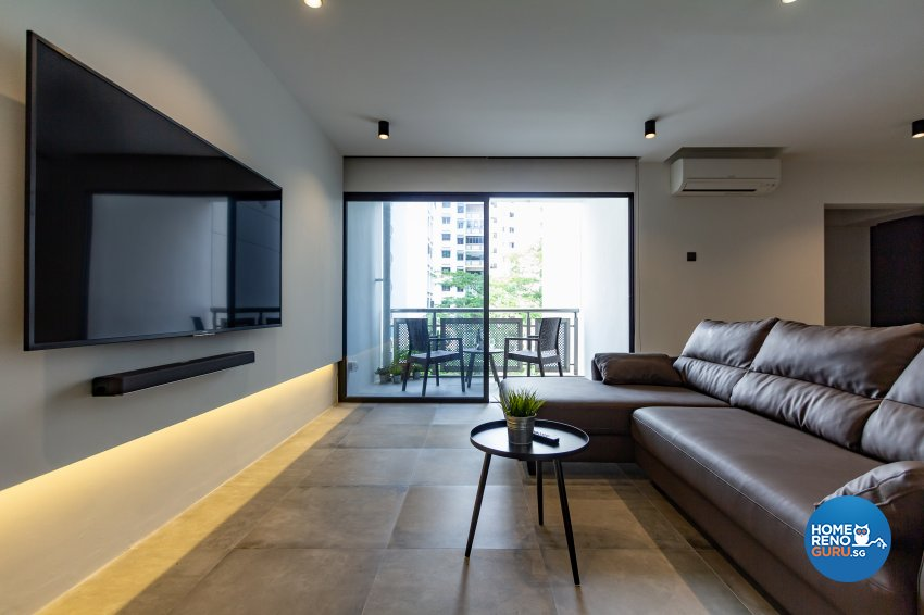 Minimalist Design - Dining Room - HDB 5 Room - Design by Fineline Design Pte Ltd