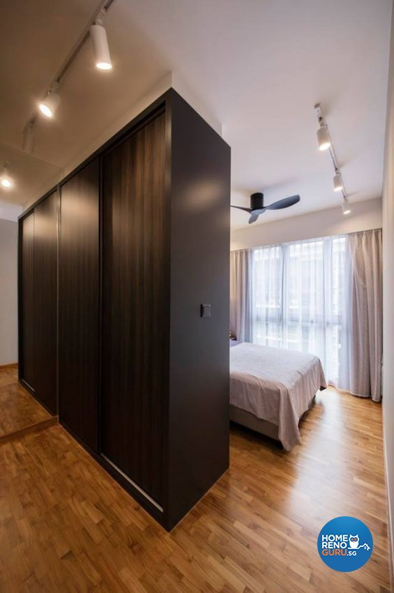 Minimalist, Scandinavian Design - Bedroom - Condominium - Design by Fineline Design Pte Ltd