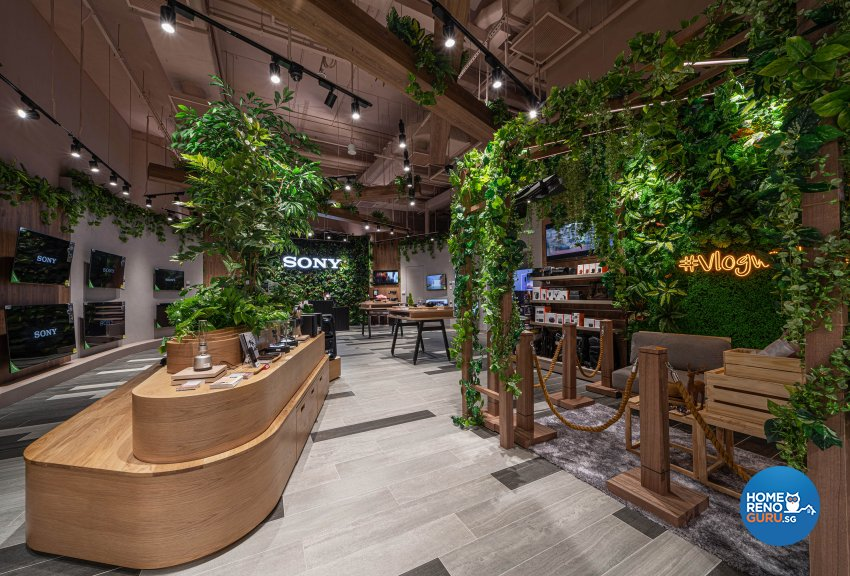 Scandinavian, Tropical Design - Commercial - Retail - Design by Fineline Design Pte Ltd