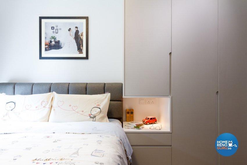 Contemporary Design - Bedroom - Condominium - Design by Fineline Design Pte Ltd