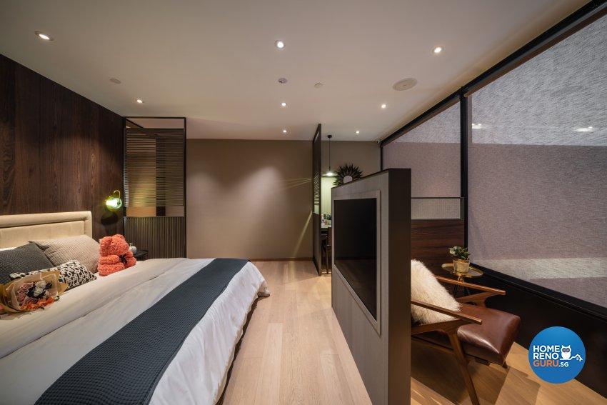 Contemporary, Modern Design - Bedroom - Office - Design by Fineline Design Pte Ltd