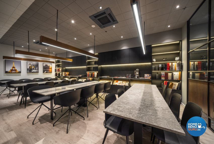 Contemporary, Modern Design - Study Room - Office - Design by Fineline Design Pte Ltd