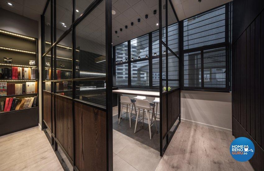 Contemporary, Modern Design - Living Room - Office - Design by Fineline Design Pte Ltd