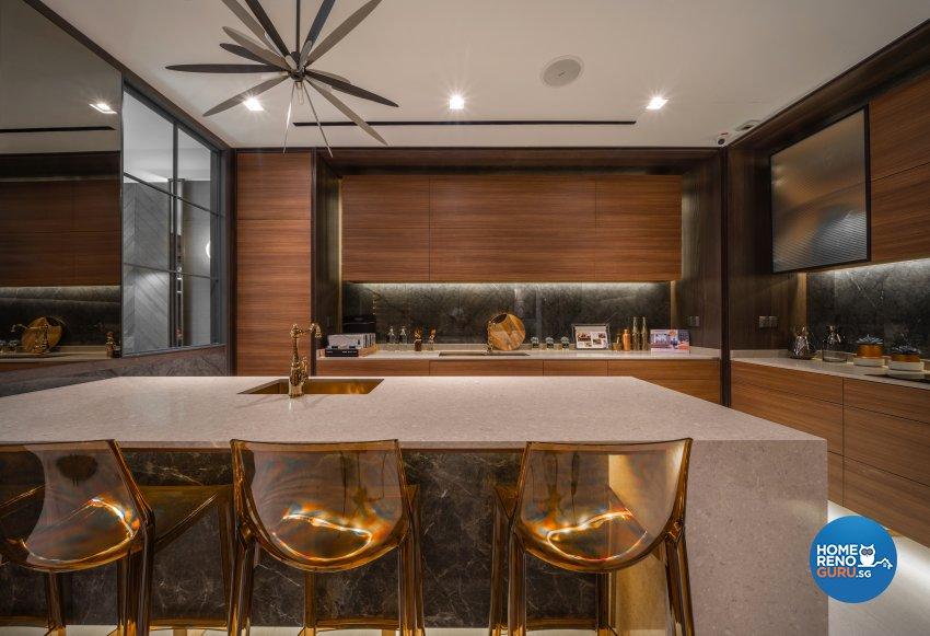 Contemporary, Modern Design - Kitchen - Office - Design by Fineline Design Pte Ltd