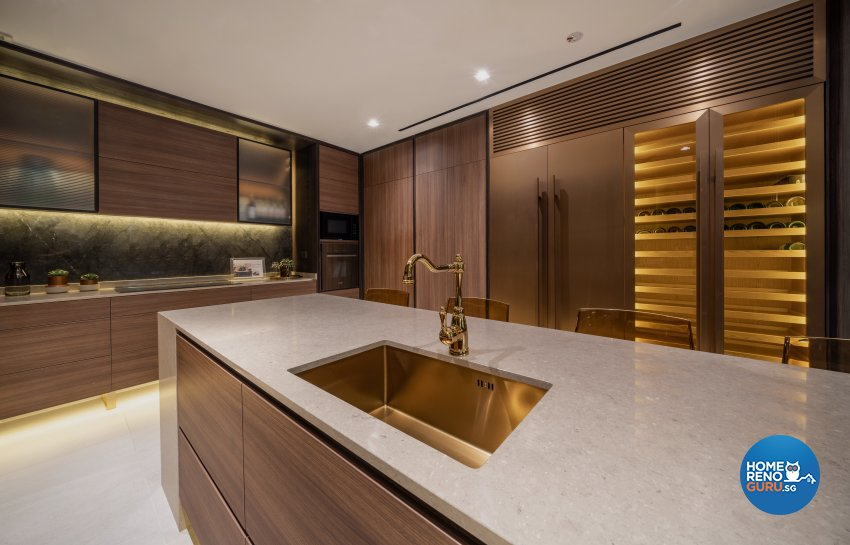 Contemporary, Modern Design - Kitchen - Office - Design by Fineline Design Pte Ltd