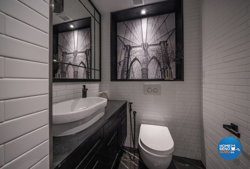 Contemporary, Modern Design - Bathroom - Office - Design by Fineline Design Pte Ltd