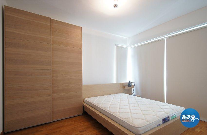 Minimalist, Scandinavian Design - Bedroom - HDB 3 Room - Design by Flipwire Design Pte Ltd