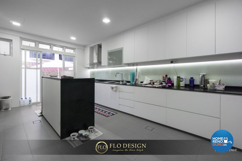 Contemporary, Eclectic, Rustic Design - Kitchen - Landed House - Design by Flo Design Pte Ltd