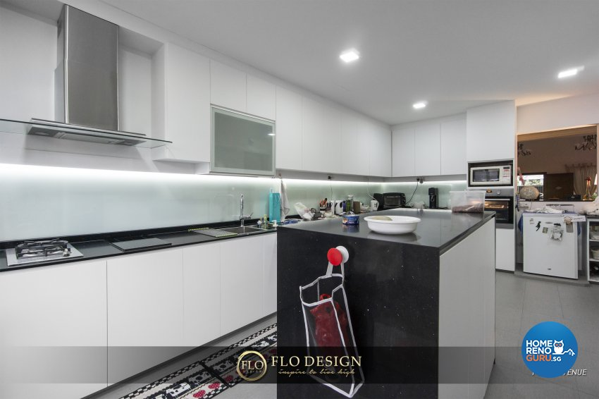 Contemporary, Eclectic, Rustic Design - Kitchen - Landed House - Design by Flo Design Pte Ltd