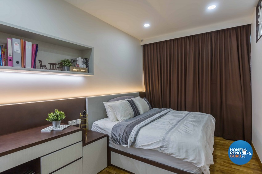 Classical, Contemporary Design - Bedroom - Condominium - Design by Flo Design Pte Ltd