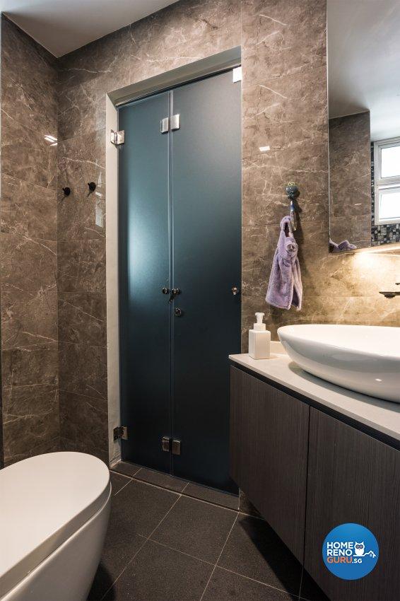 Contemporary, Modern Design - Bathroom - Condominium - Design by Flo Design Pte Ltd