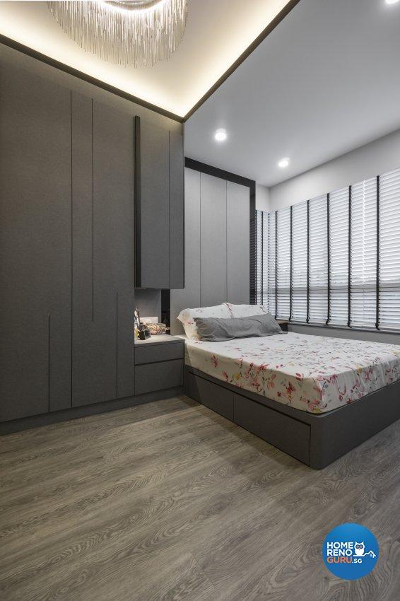 Contemporary, Victorian, Vintage Design - Bedroom - Condominium - Design by Flo Design Pte Ltd