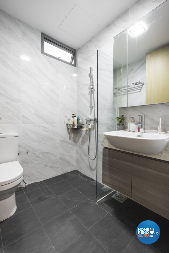 Contemporary, Victorian, Vintage Design - Bathroom - Condominium - Design by Flo Design Pte Ltd