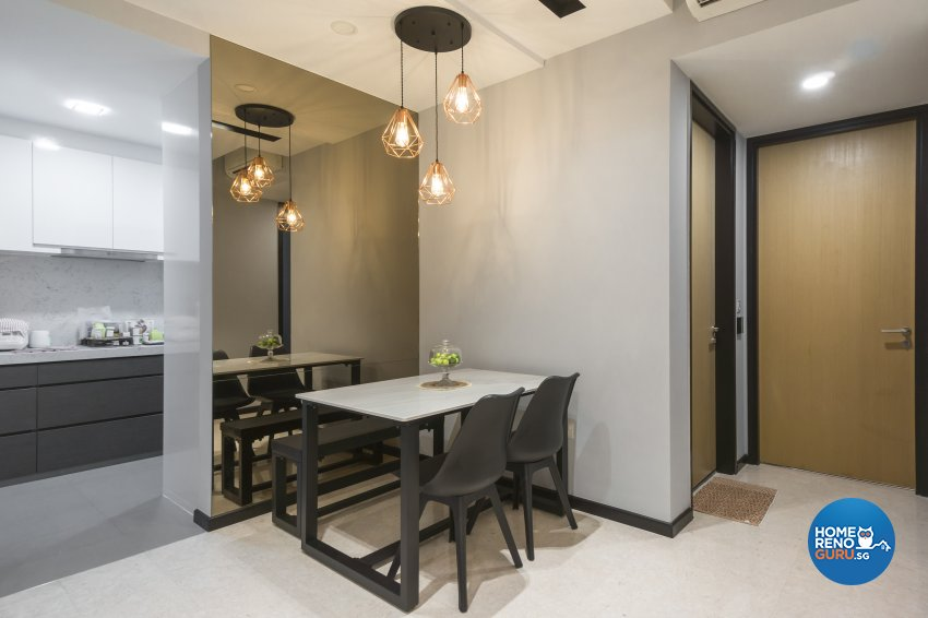 Contemporary, Victorian, Vintage Design - Dining Room - Condominium - Design by Flo Design Pte Ltd