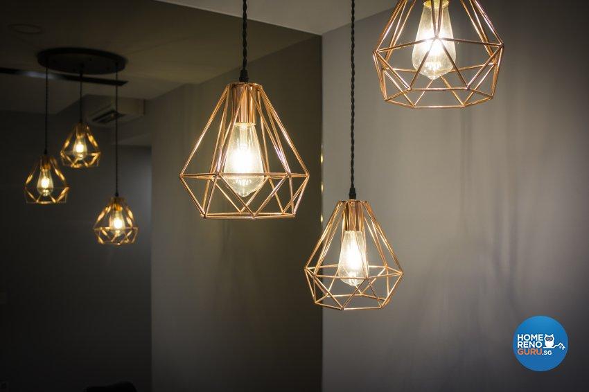 Contemporary, Victorian, Vintage Design - Dining Room - Condominium - Design by Flo Design Pte Ltd