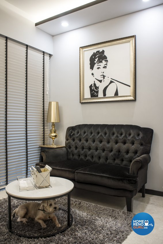 Contemporary, Victorian, Vintage Design - Living Room - Condominium - Design by Flo Design Pte Ltd