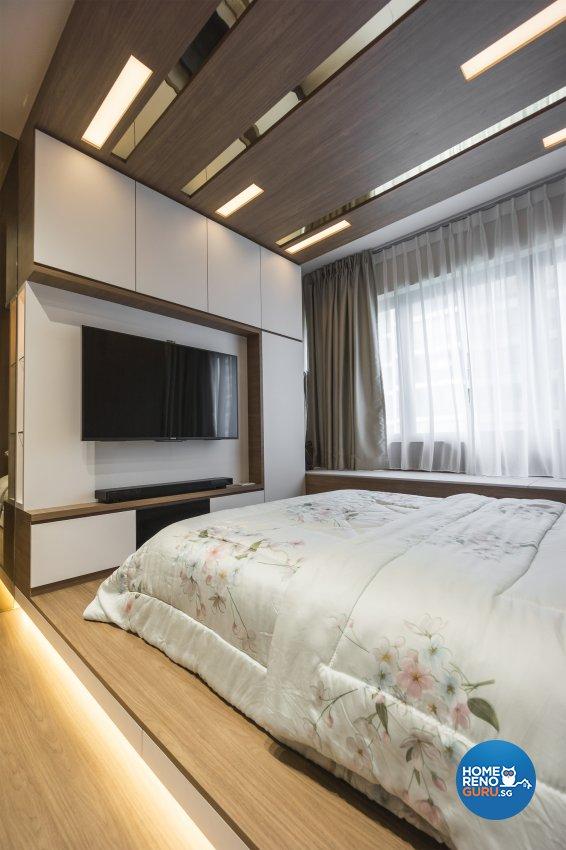 Classical, Contemporary Design - Bedroom - Condominium - Design by Flo Design Pte Ltd