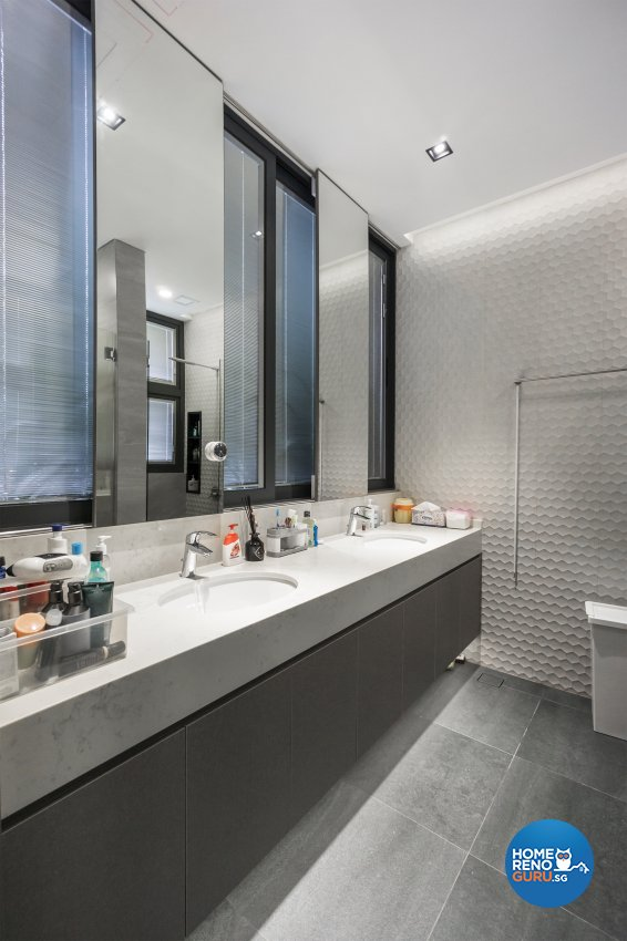 Contemporary, Modern Design - Bathroom - Landed House - Design by Flo Design Pte Ltd