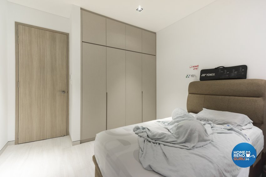 Contemporary, Modern Design - Bedroom - Landed House - Design by Flo Design Pte Ltd
