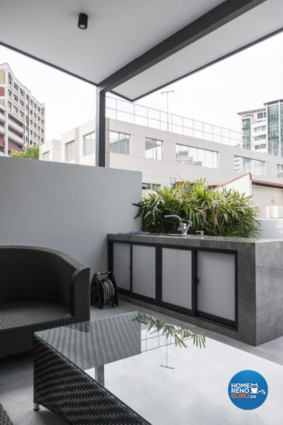 Contemporary, Modern Design - Garden - Landed House - Design by Flo Design Pte Ltd