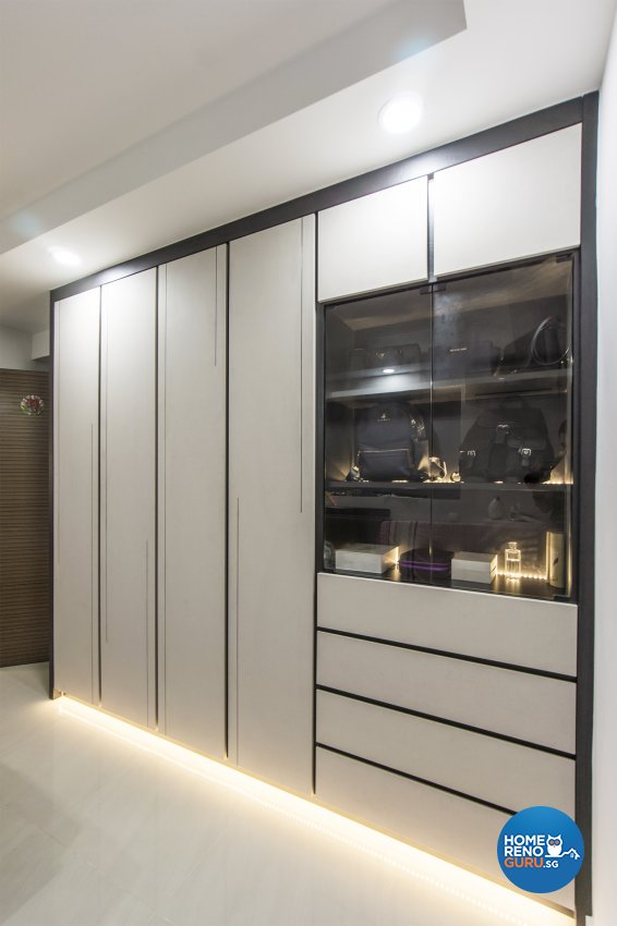 Contemporary, Modern Design - Bedroom - HDB 4 Room - Design by Flo Design Pte Ltd