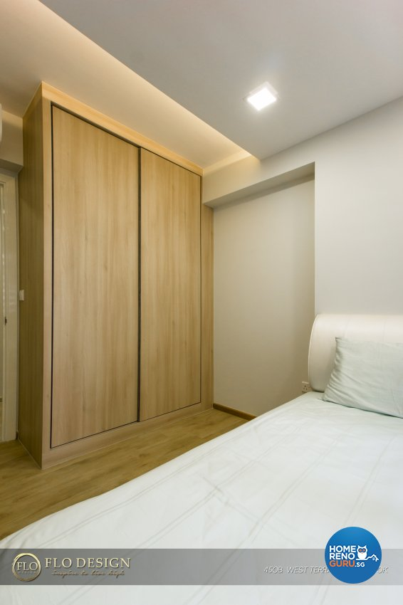 Contemporary, Industrial, Scandinavian Design - Bedroom - HDB 4 Room - Design by Flo Design Pte Ltd