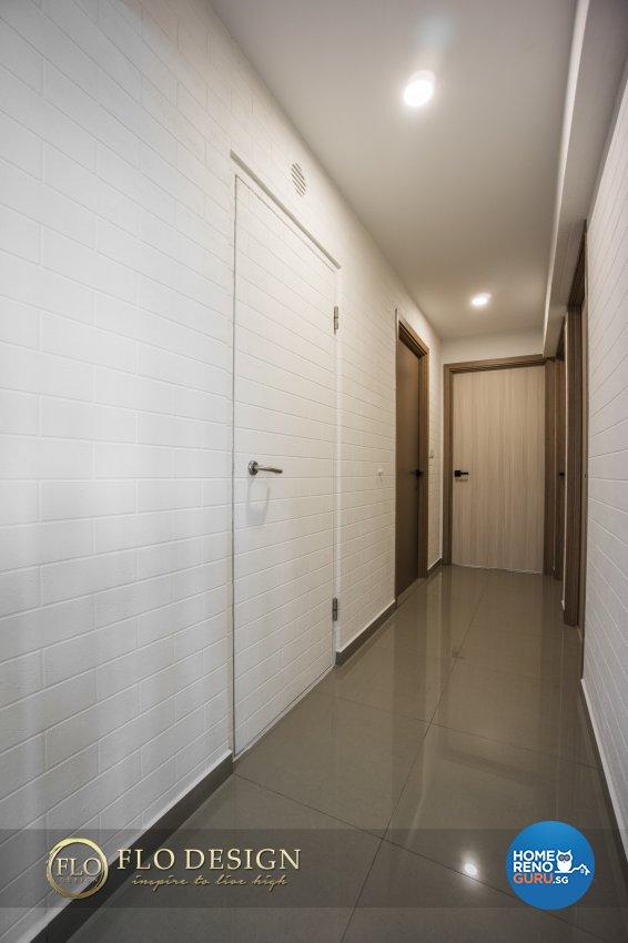 Contemporary, Scandinavian Design - Living Room - HDB 5 Room - Design by Flo Design Pte Ltd