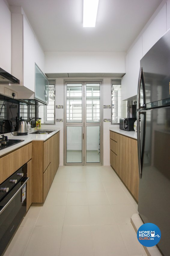 Contemporary, Scandinavian Design - Kitchen - HDB 4 Room - Design by Flo Design Pte Ltd