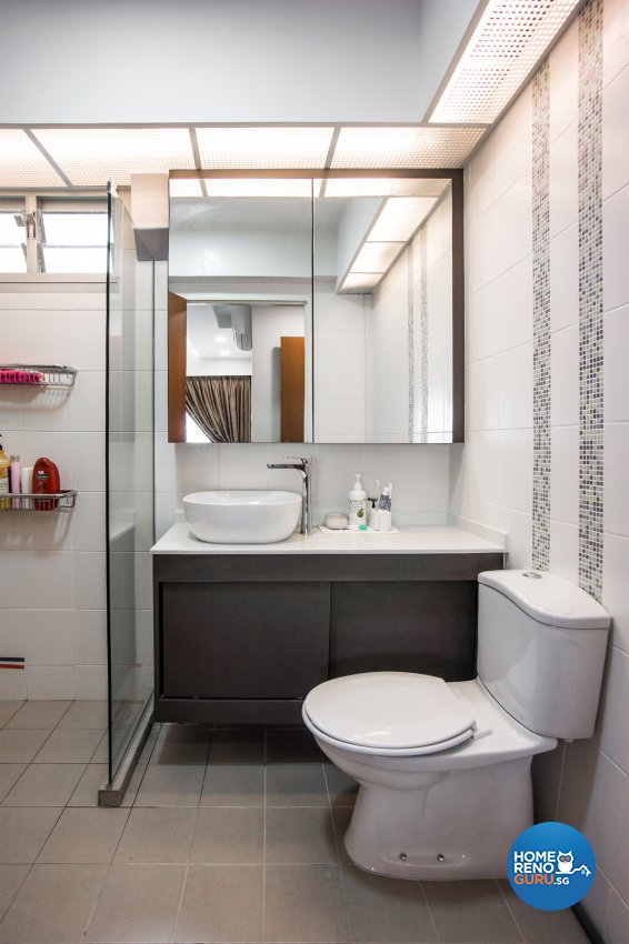 Contemporary, Scandinavian Design - Bathroom - HDB 4 Room - Design by Flo Design Pte Ltd