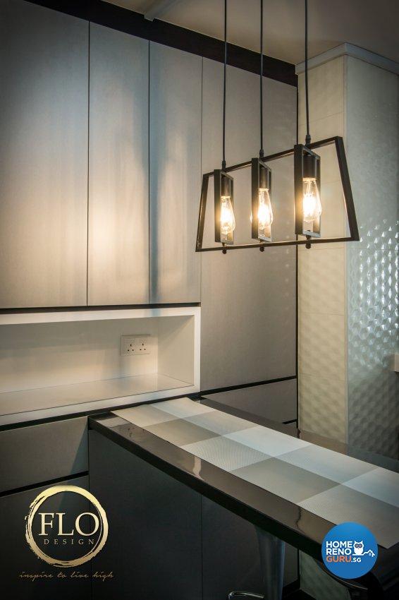 Contemporary, Scandinavian Design - Kitchen - HDB 3 Room - Design by Flo Design Pte Ltd