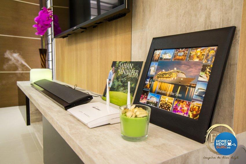 Contemporary, Scandinavian Design - Living Room - HDB 3 Room - Design by Flo Design Pte Ltd