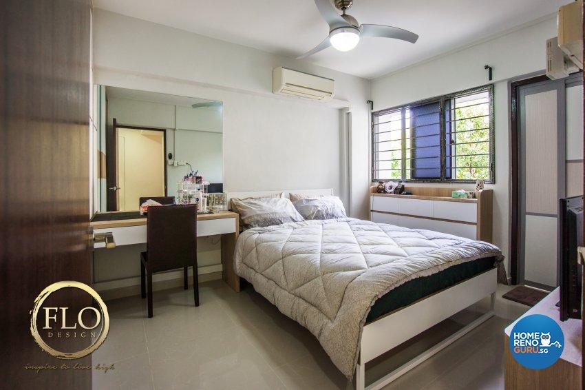 Contemporary, Scandinavian Design - Bedroom - HDB 3 Room - Design by Flo Design Pte Ltd