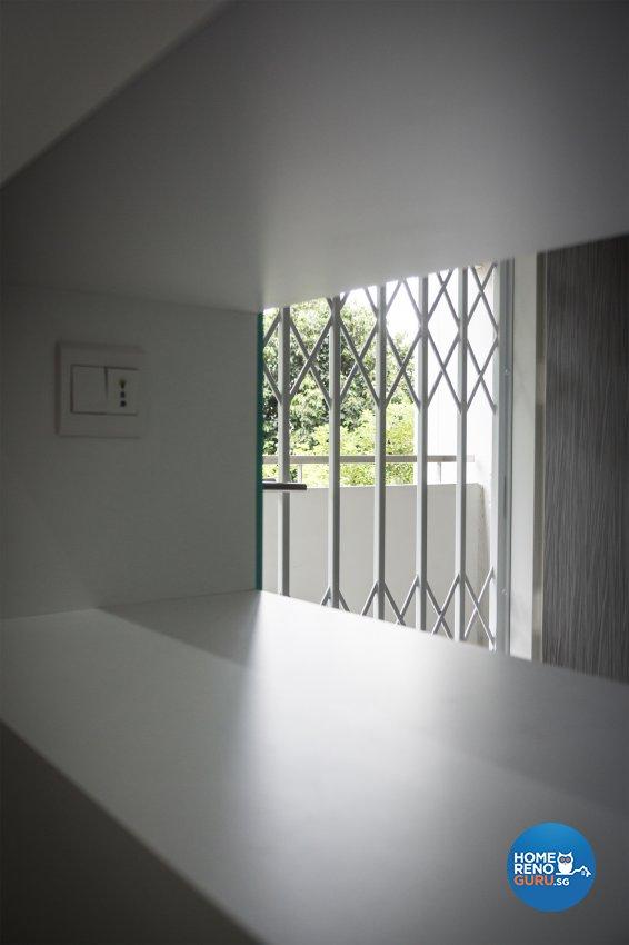 Contemporary, Minimalist, Modern Design - Living Room - HDB 3 Room - Design by Flo Design Pte Ltd