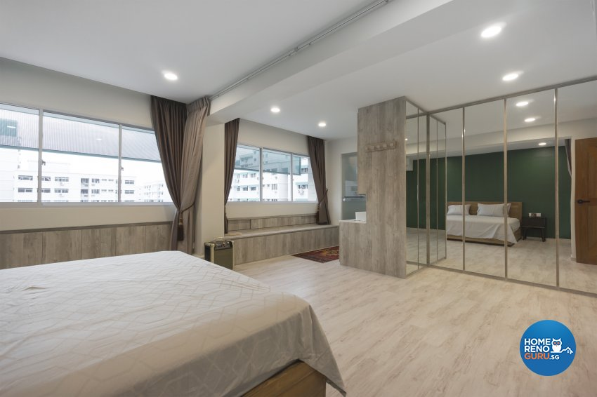 Country, Rustic Design - Bedroom - HDB 5 Room - Design by Flo Design Pte Ltd