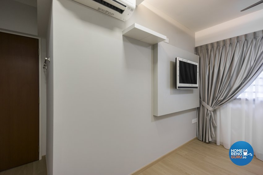 Contemporary, Modern Design - Bedroom - HDB 4 Room - Design by Flo Design Pte Ltd