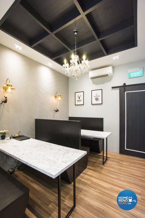 Contemporary, Victorian, Vintage Design - Commercial - Office - Design by Flo Design Pte Ltd