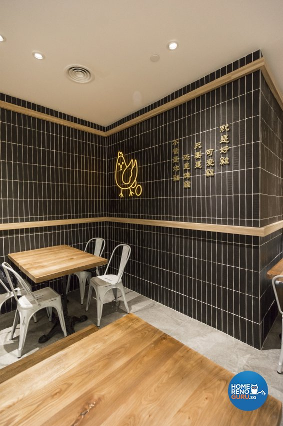 Country, Retro, Rustic Design - Commercial - F&B - Design by Flo Design Pte Ltd