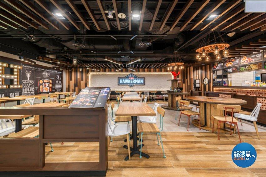 Industrial, Retro, Rustic Design - Commercial - F&B - Design by Flo Design Pte Ltd