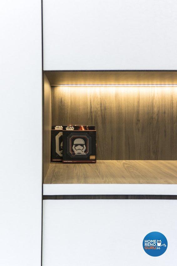 Contemporary, Modern, Scandinavian Design - Living Room - HDB 4 Room - Design by Flo Design Pte Ltd