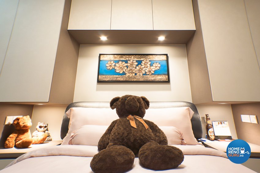 Classical, Contemporary Design - Bedroom - HDB 4 Room - Design by Flo Design Pte Ltd