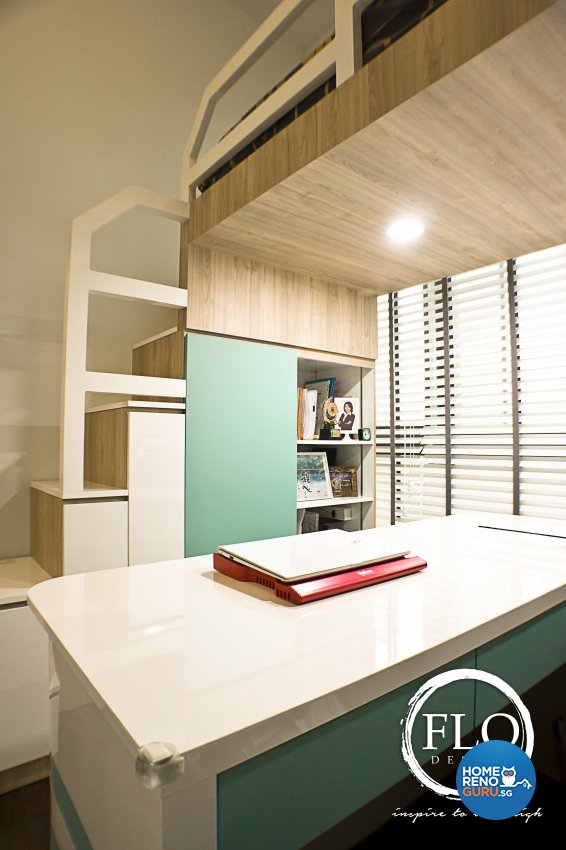 Contemporary, Scandinavian Design - Study Room - Condominium - Design by Flo Design Pte Ltd