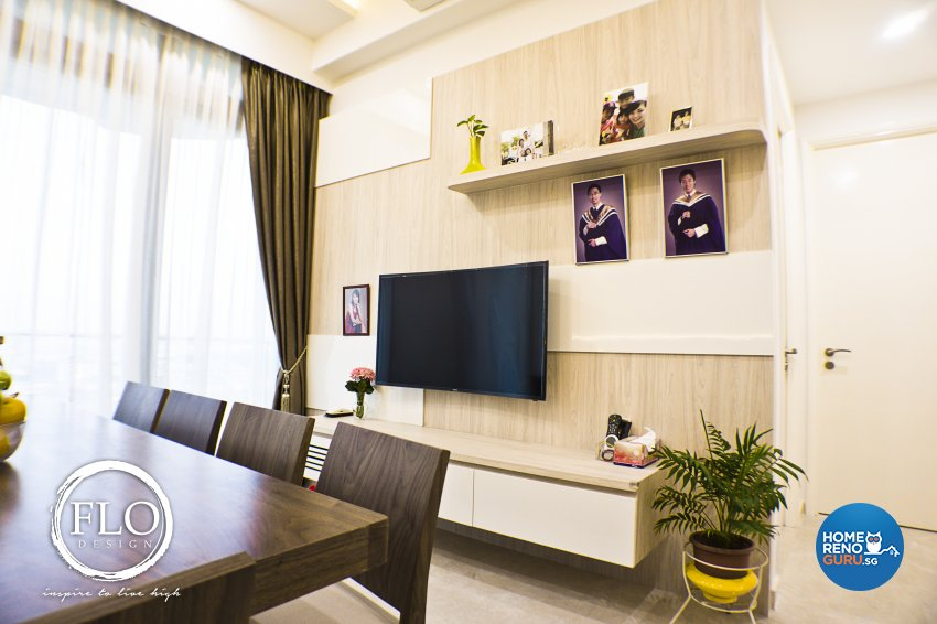 Contemporary, Scandinavian Design - Living Room - Condominium - Design by Flo Design Pte Ltd