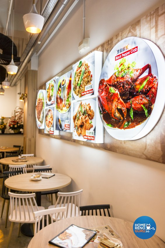 Oriental, Rustic Design - Commercial - F&B - Design by Flo Design Pte Ltd