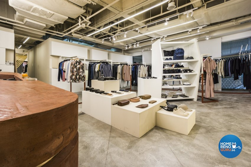Contemporary, Modern, Rustic Design - Commercial - Retail - Design by Flo Design Pte Ltd