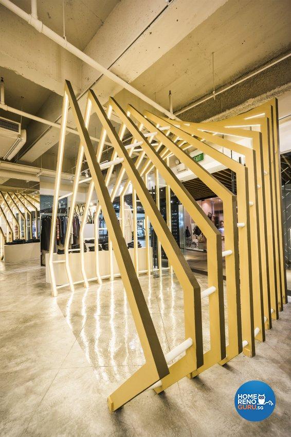 Contemporary, Modern, Rustic Design - Commercial - Retail - Design by Flo Design Pte Ltd
