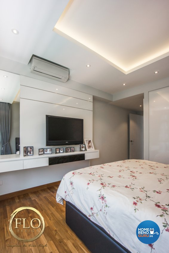 Contemporary, Minimalist Design - Bedroom - Condominium - Design by Flo Design Pte Ltd