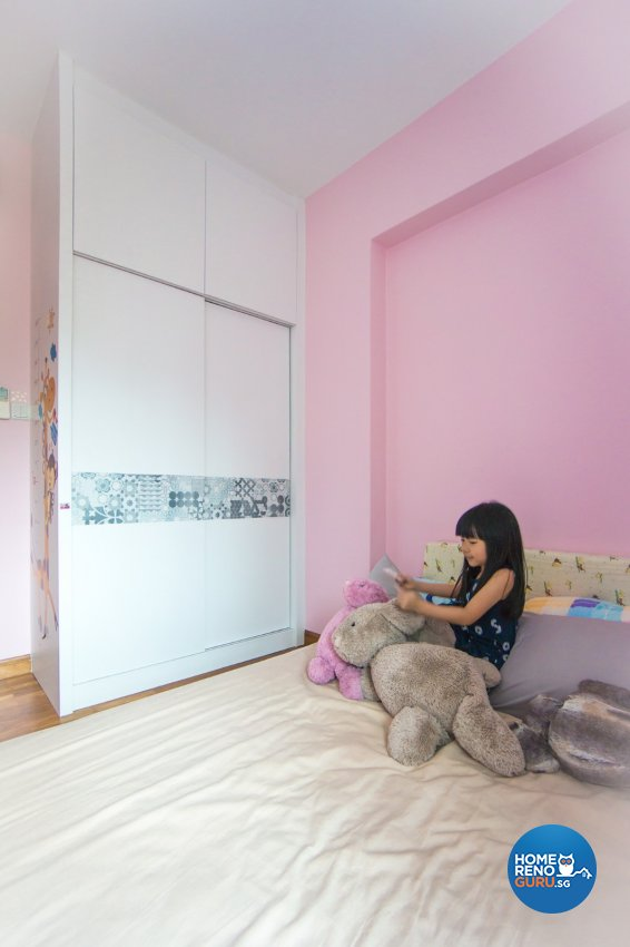 Contemporary Design - Bedroom - Condominium - Design by Flo Design Pte Ltd