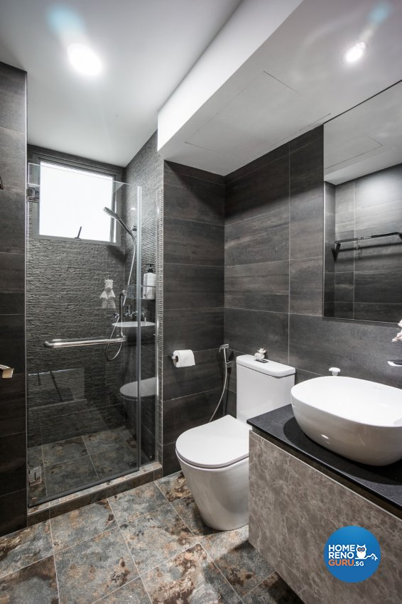 Contemporary Design - Bathroom - Condominium - Design by Flo Design Pte Ltd
